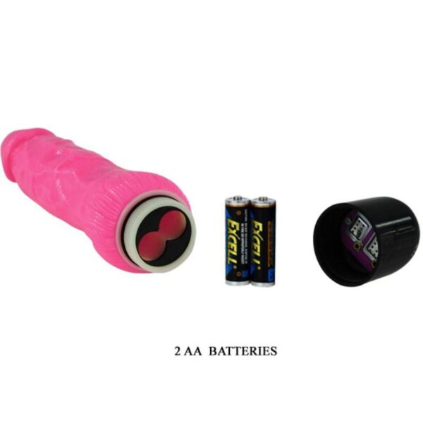 COLORFUL SEX REALISTISK VIBRATOR ROSA 24