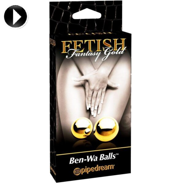 FETISH FANTASY GOLDEN BEN-WA BALLS M 2