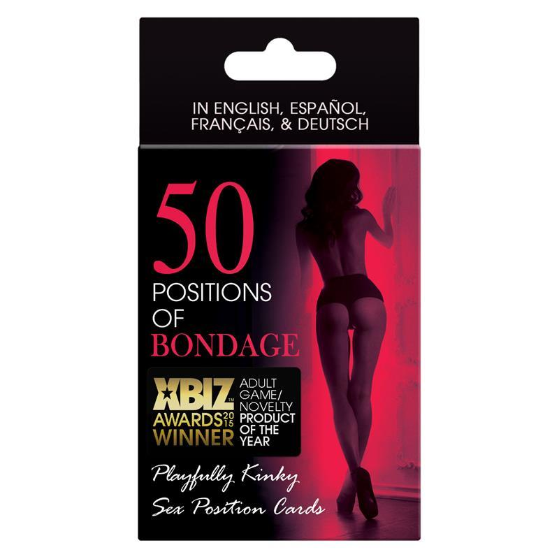 50 Positions of Bondage Couples Game